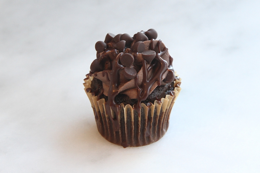 Chocolate Obsession Mini Cupcake
