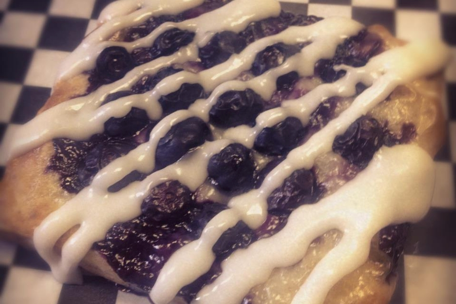Blueberry Cream Cheese Danish