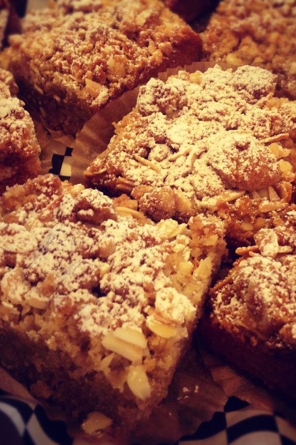 Crumb Cake with Almond Topping